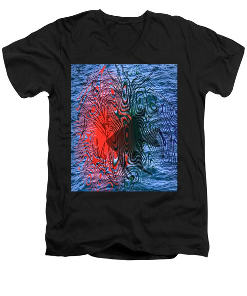 Angelfish Men's V-Neck T-Shirt