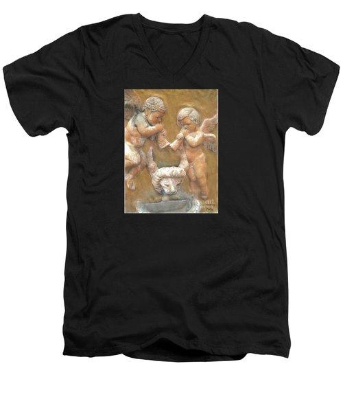 Angels Of Ft. Lauderdale Men's V-Neck T-Shirt