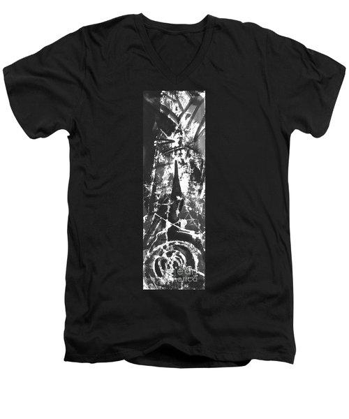 Anger Men's V-Neck T-Shirt by Carol Rashawnna Williams