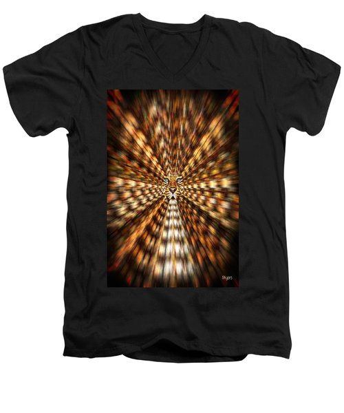 Animal Magnetism Men's V-Neck T-Shirt