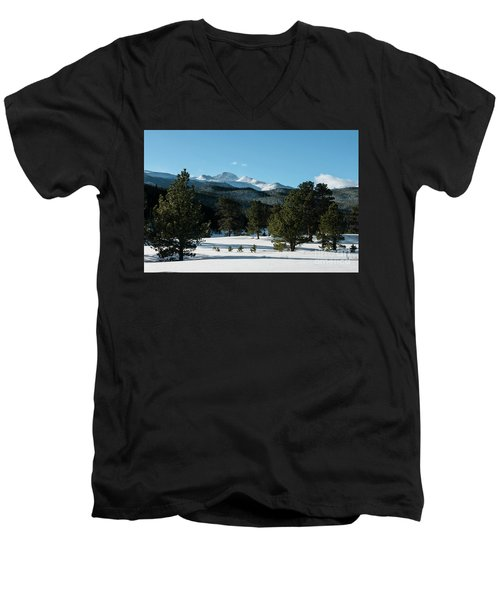 Another Beautiful Day In Rocky Mountain National Park - 0612 Men's V-Neck T-Shirt
