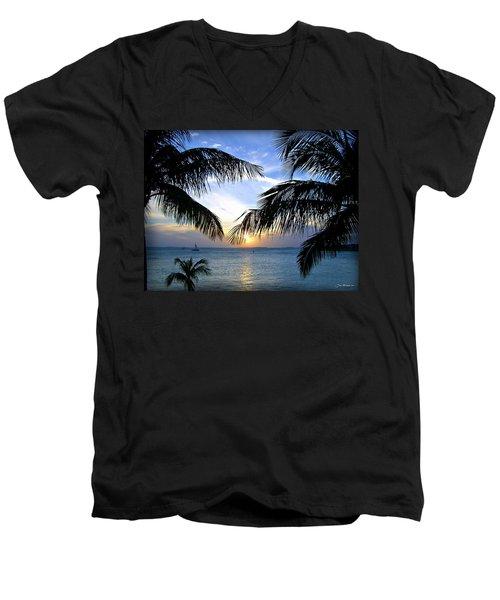 Another Key West Sunset Men's V-Neck T-Shirt