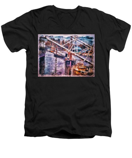 Another Picture For A Dentist Waiting Room Men's V-Neck T-Shirt