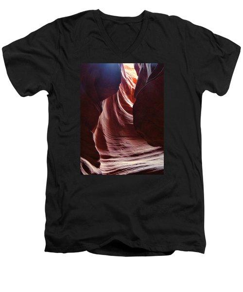 Antelope Valley Slot Canyon 3 Men's V-Neck T-Shirt