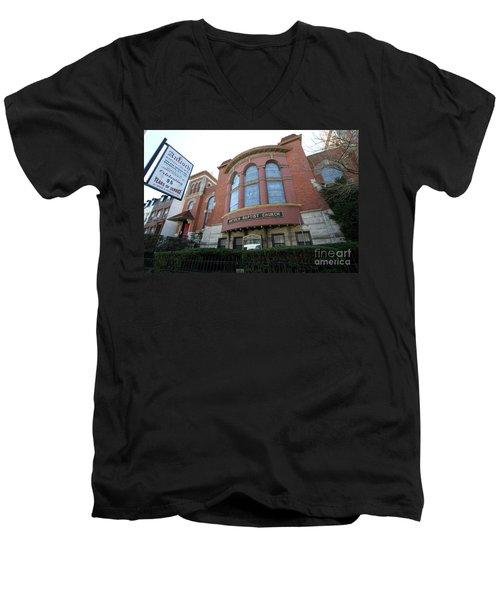 Antioch Baptist Church Men's V-Neck T-Shirt