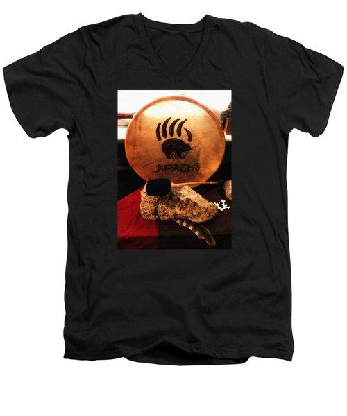 Apache Drum Men's V-Neck T-Shirt