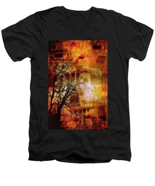 Apocalypse Now Series 5859 Men's V-Neck T-Shirt