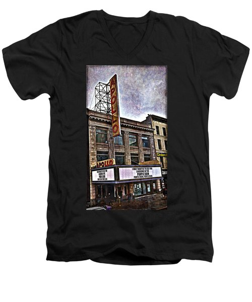 Apollo Theatre, Harlem Men's V-Neck T-Shirt