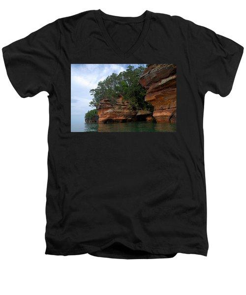 Apostle Islands National Lakeshore Men's V-Neck T-Shirt