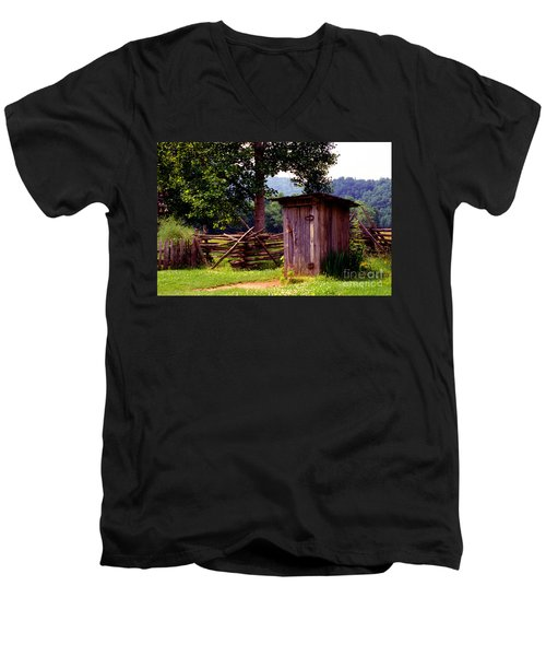 Appalachian Hill-ton Men's V-Neck T-Shirt