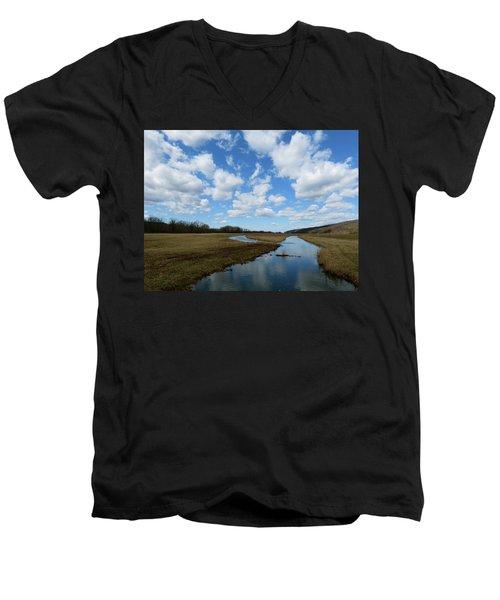 April Day Men's V-Neck T-Shirt