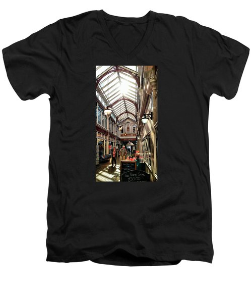 Arcade Men's V-Neck T-Shirt