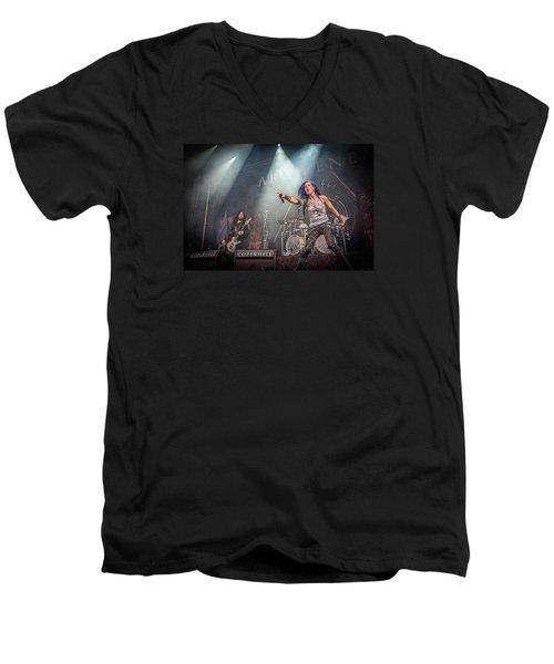Arch Enemy Men's V-Neck T-Shirt