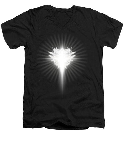 Archangel Cross Men's V-Neck T-Shirt