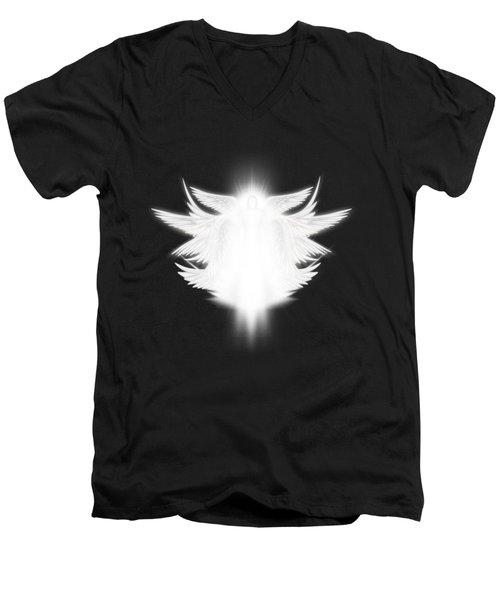 Archangel Men's V-Neck T-Shirt by James Larkin