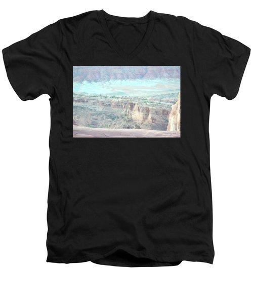 Arches No. 9-1 Men's V-Neck T-Shirt
