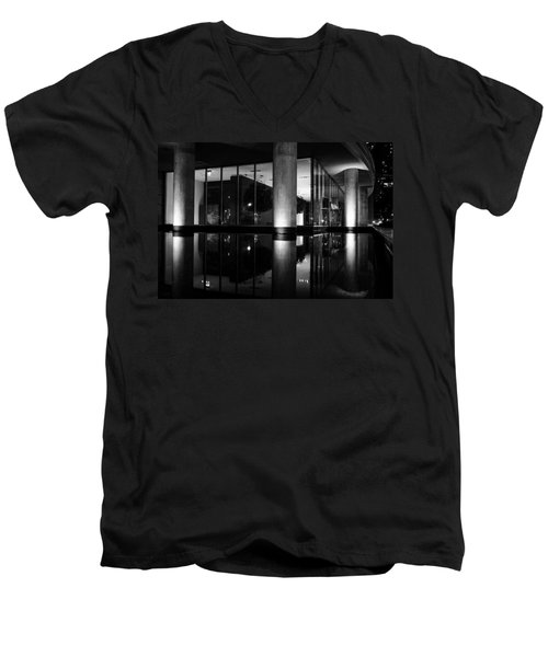 Architectural Reflecting Pool 2 Men's V-Neck T-Shirt