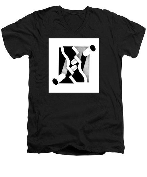 Archtectonic 1 Men's V-Neck T-Shirt