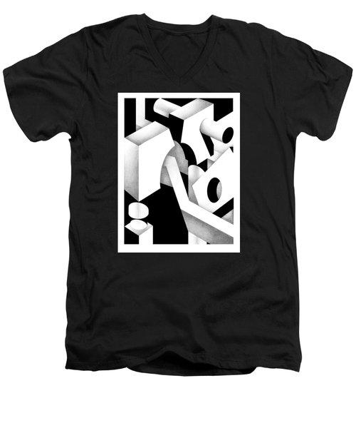 Archtectonic 11 Men's V-Neck T-Shirt