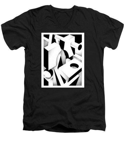Archtectonic 3 Men's V-Neck T-Shirt