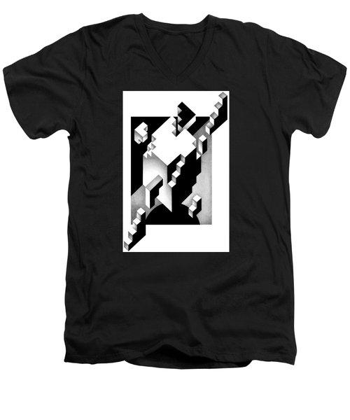 Archtectonic 4 Men's V-Neck T-Shirt