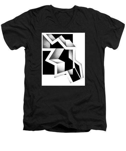 Archtectonic 5 Men's V-Neck T-Shirt