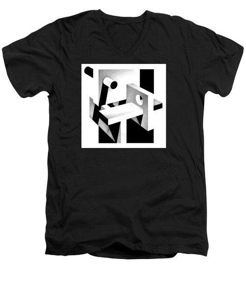 Archtectonic 7 Men's V-Neck T-Shirt