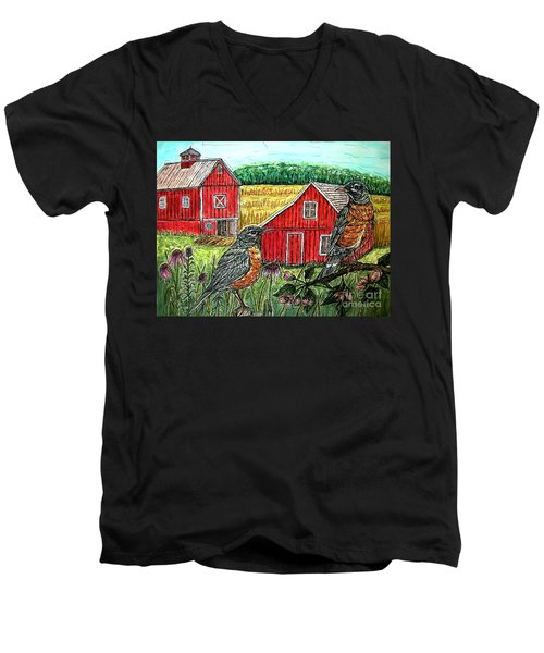 Are You Sure This Is The Way To St.paul? Men's V-Neck T-Shirt