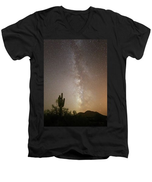 Arizona Night Men's V-Neck T-Shirt