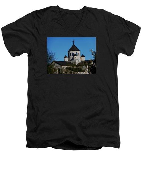 Armenian Church 1 Men's V-Neck T-Shirt