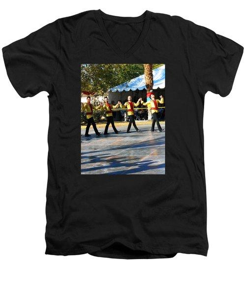 Armenian Dancers 7 Men's V-Neck T-Shirt