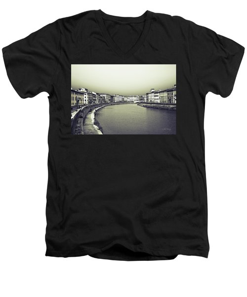 Arno II Men's V-Neck T-Shirt by Joseph Westrupp
