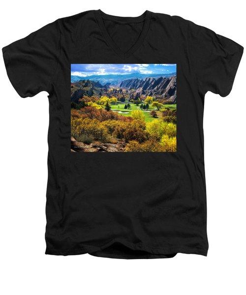 Arrowhead  Men's V-Neck T-Shirt