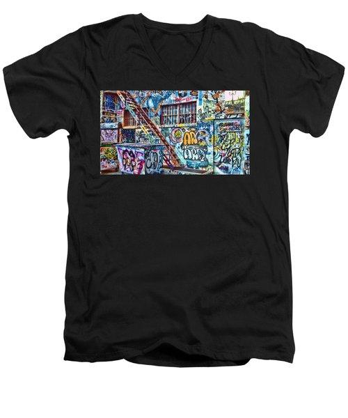 Art Alley 2 Men's V-Neck T-Shirt