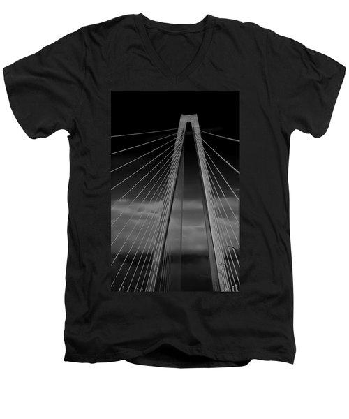 Arthur Ravenel Jr Bridge Men's V-Neck T-Shirt