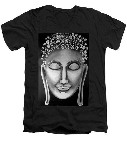 Badwave Men's V-Neck T-Shirt