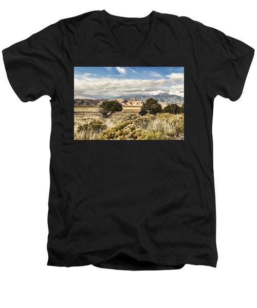 Great Sand Dunes National Park And Preserve Men's V-Neck T-Shirt
