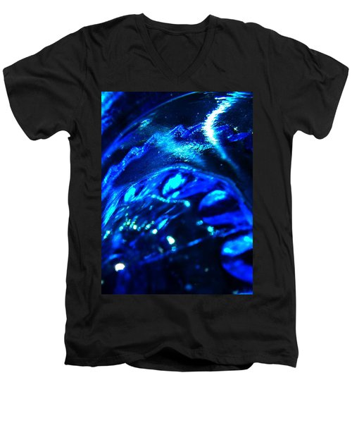 Glowing Glass Beauty Men's V-Neck T-Shirt by Samantha Thome