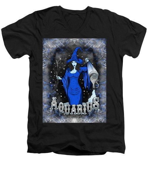 The Water Bearer Aquarius Spirit Men's V-Neck T-Shirt