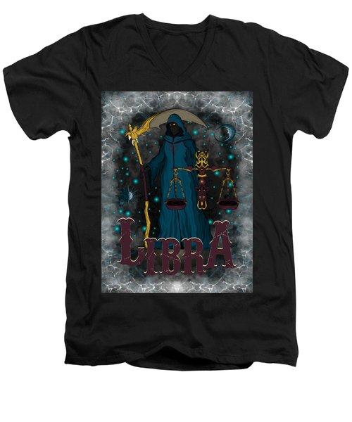 The Scale Libra Spirit Men's V-Neck T-Shirt