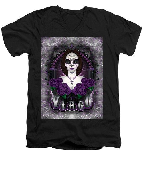 The Virgin Virgo Spirit Men's V-Neck T-Shirt