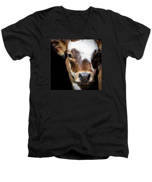 Patches Men's V-Neck T-Shirt