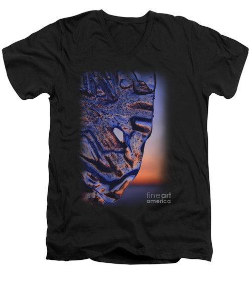 Ice Lord Men's V-Neck T-Shirt by Sami Tiainen