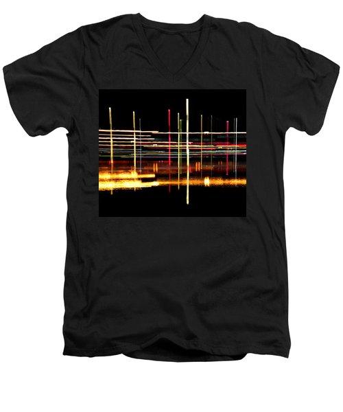 Cosmic Avenues Men's V-Neck T-Shirt