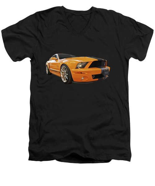 Cobra Power - Shelby Gt500 Mustang Men's V-Neck T-Shirt