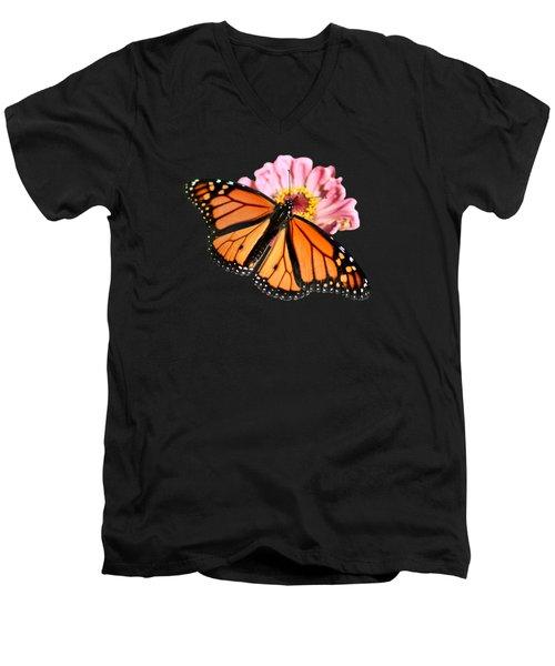 Migrant Worker Men's V-Neck T-Shirt by Nikolyn McDonald