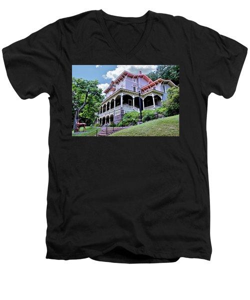 Asa Packer Mansion Men's V-Neck T-Shirt