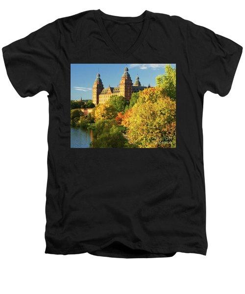 Aschaffenburg Bavaria 3 Men's V-Neck T-Shirt