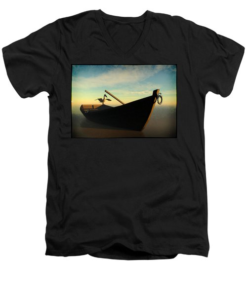 Ashore... Men's V-Neck T-Shirt