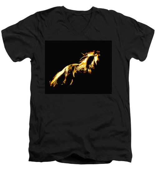 Asian Stallion Men's V-Neck T-Shirt